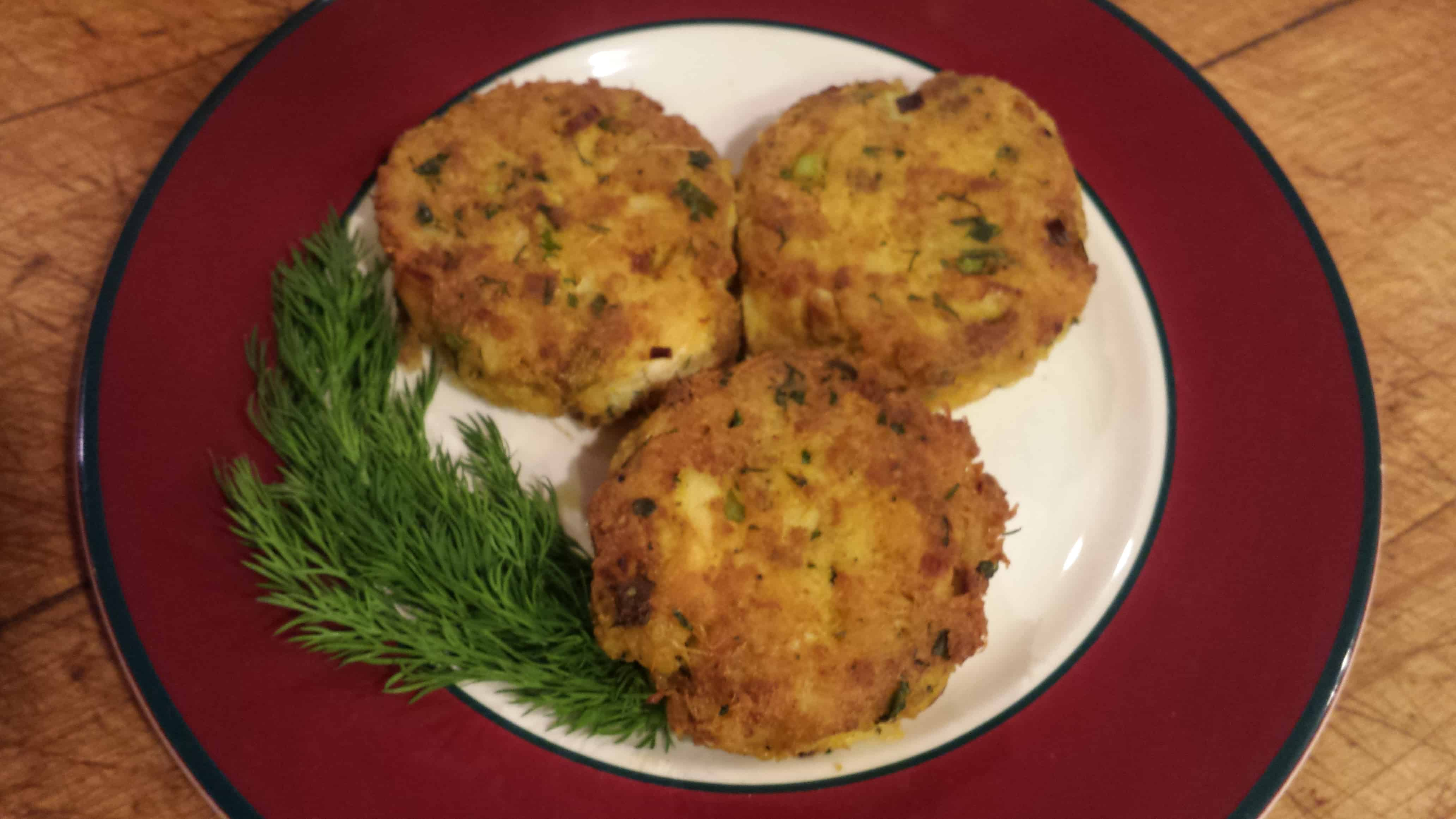 low carb crab cakes recipe - fox hill kitchens - home of vermont